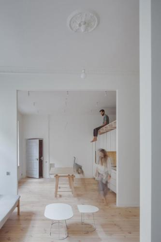archistory-Архитекторы бюро Šarkauskai перестраивают квартиру 19 века в Вильнюсе00004