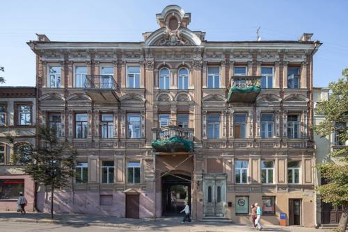 archistory-Архитекторы бюро Šarkauskai перестраивают квартиру 19 века в Вильнюсе00009