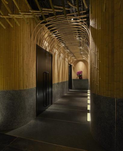 archistory-Японские архитекторы создали бамбуковую рощу внутри Пекинского ресторана00002