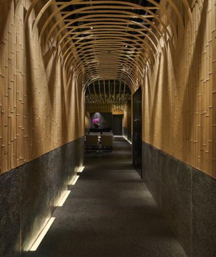 archistory-Японские архитекторы создали бамбуковую рощу внутри Пекинского ресторана00003