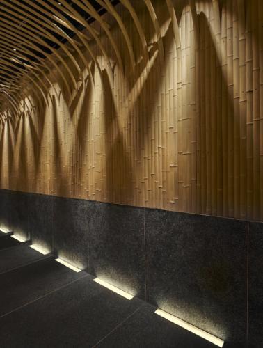 archistory-Японские архитекторы создали бамбуковую рощу внутри Пекинского ресторана00004