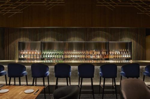 archistory-Японские архитекторы создали бамбуковую рощу внутри Пекинского ресторана00007