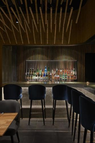 archistory-Японские архитекторы создали бамбуковую рощу внутри Пекинского ресторана00009