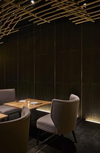 archistory-Японские архитекторы создали бамбуковую рощу внутри Пекинского ресторана00010