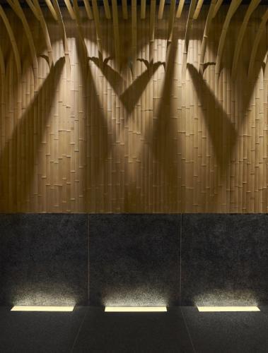 archistory-Японские архитекторы создали бамбуковую рощу внутри Пекинского ресторана00012